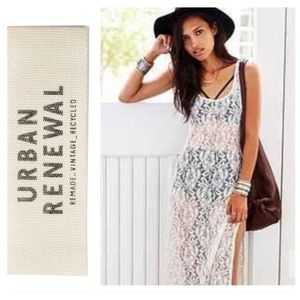 URBAN RENEWAL Vintage Recycled Lace Tank Dress